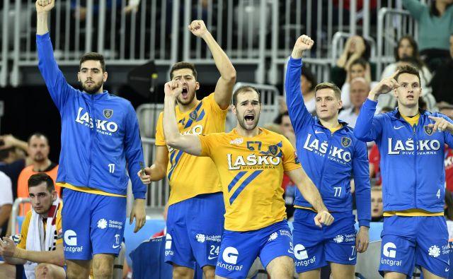 Celjani računajo, da jima bosta dve zmagi proti Zagrebu prinesli tako želeni nastop v osmini finala lige prvakov. FOTO: Cropix
