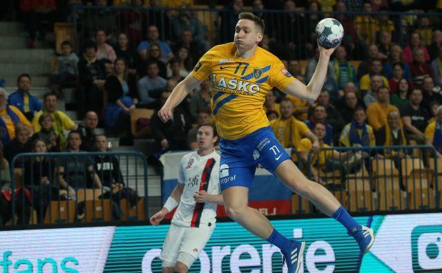 Domen Novak je dosegel 11 golov za Celjane. FOTO: Jože Suhadolnik