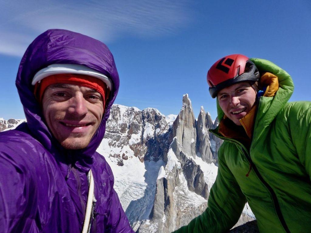 FOTO:Slovenska alpinista v Patagoniji premagala »Mir«: 38 ur efektivnega plezanja in dva bivaka