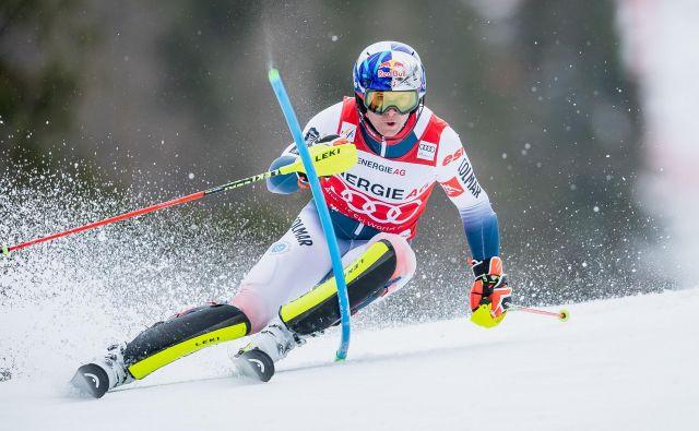 Alexis Pinturault (280 točk, kombinacija) je še šestič osvojil seštevek kombinacije v alpskem smučanju, potem ko je v tej zimi dobil dve kombinaciji (Bormio, Hinterstoder), v Wengnu pa je bil drugi. FOTO: AFP