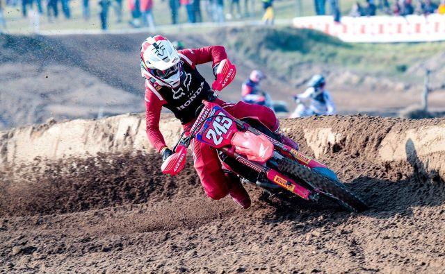 Tim Gajser je bil najboljši na drugi vožnji. FOTO:Honda Racing