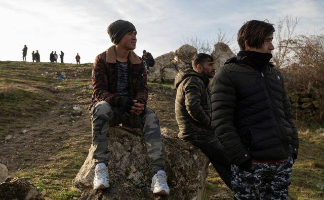 Migranti na turško-grški meji.Foto: Marko Djurica/Reuters