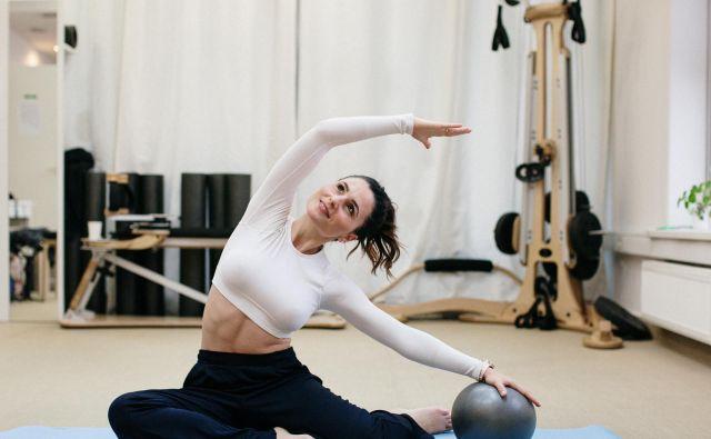 Melita Beljan, pilates. FOTO: Sonja Ravbar