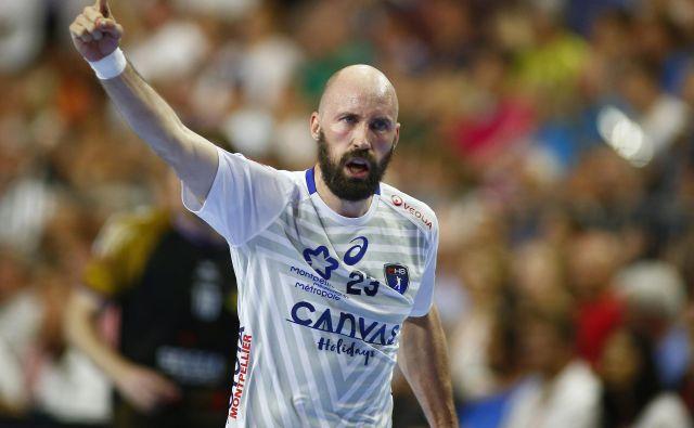 Vid Kavtičnik je leta 2018 z Montpellierom osvojil ligo prvakov. FOTO: Reuters