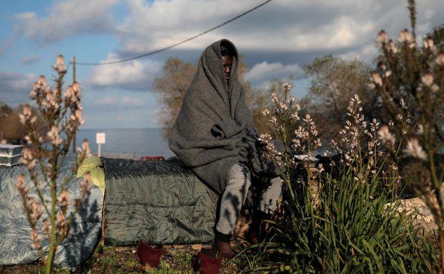 Na mejah EU ne umirajo samo begunci, ampak tudi duh Evrope, njena morala in tisto, zaradi česar je bila Unija ustvarjena. FOTO: Costas Baltas/Reuters