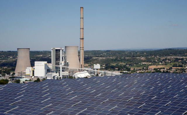 Proizvodnja elektrike iz obnovljivih virov se je povečala bolj, kot so se zmanjšali fosilni viri.<br /> FOTO: Reuters