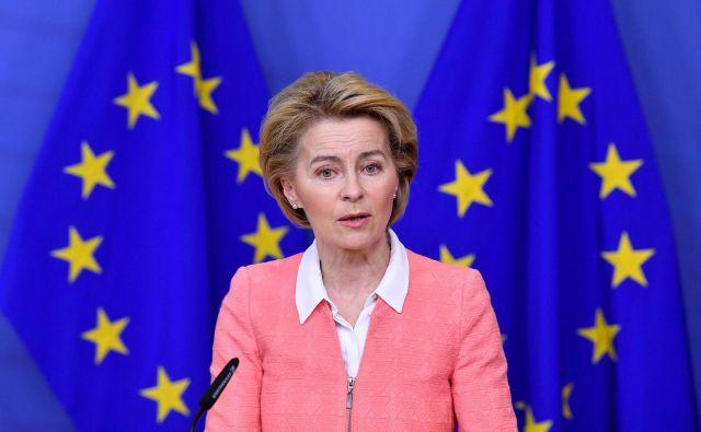 Ursula von der Leyen, predsednica evropske komisije, je doslej nenavadno veliko govorila, a presenetljivo malo naredila.