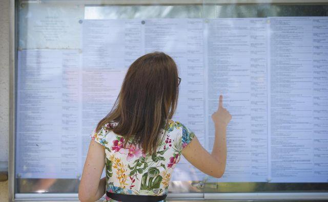 Število brezposelnih upada, toda opazno upada tudi zaposlovanje. FOTO: Jože Suhadolnik/Delo