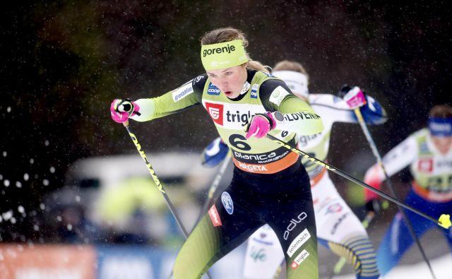 Anamarija Lampič je bila šesta na Norveškem. FOTO: Roman Šipić
