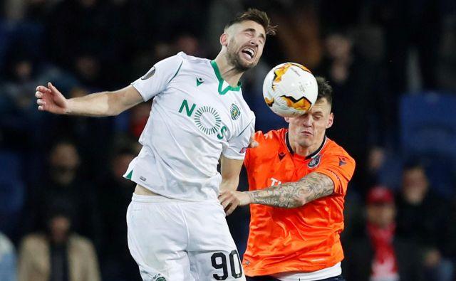 Andraz Šporar je v portugalskem prvenstvu dosegel en gol, odkar je januarja prestopil k Sportingu. FOTO: Reuters