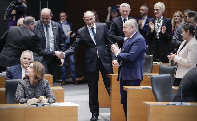 Predvidoma danes ali jutri je pričakovati razkritje vseh imen za ministrske kandidate. FOTO: Uroš Hočevar/Delo