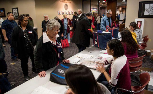 Na volilni <em>supertorek </em>v ZDA so volivci svoj glas oddali v štirinajstih zveznih državah. FOTO: SamoeCengiz Yar/AFP