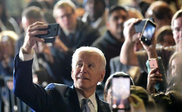 Nekdanji ameriški podpredsednik Joe Biden.Foto: Frederic J. Brown/Afp