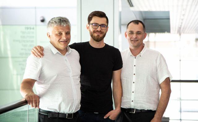 Aleš, Miha in Boštjan Jager želijo z družinskim podjetjem narediti preskok. Foto Finance