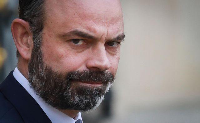 Francoski predsednik vlade Edouard Philippe je presekal nemogočo pokojninsko razpravo v narodni skupščini.<br /> Foto Afp