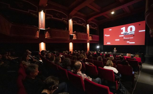 Praznovanje desete obletnice Art kino mreže Slovenije je pred dnevi potekalo v Kinodvoru.