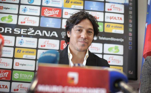 Mauro Camoranesi je dobro preporodil nogometaše sežanskega Tabora. FOTO: Leon Vidic