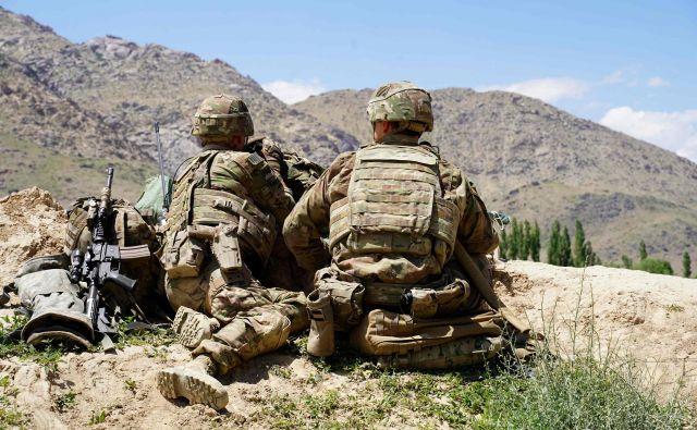 Haaško sodišče bo preiskovalo vojne zločine v Afganistanu, tudi tiste, ki so jih zagrešili ameriški vojaki. FOTO: Thomas Watkins/Afp