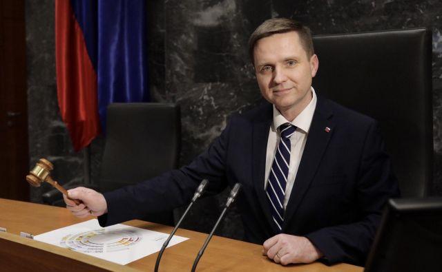 V prvem poslanskem mandatu je Igor Zorčič predsedoval parlamentarnemu odboru za infrastrukturo, okolje in prostor, v drugem vodi poslansko skupino SMC. FOTO: Voranc Vogel/Delo
