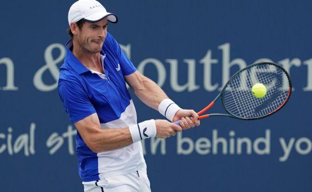 Andy Murray je v zadnjih letih prestal številne težave. FOTO: USA Today Sports