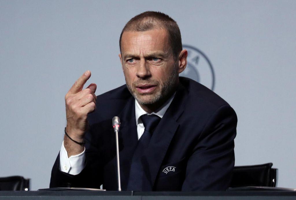 Aleksander Čeferin: Koronavirus le eden od izzivov za evropski nogomet