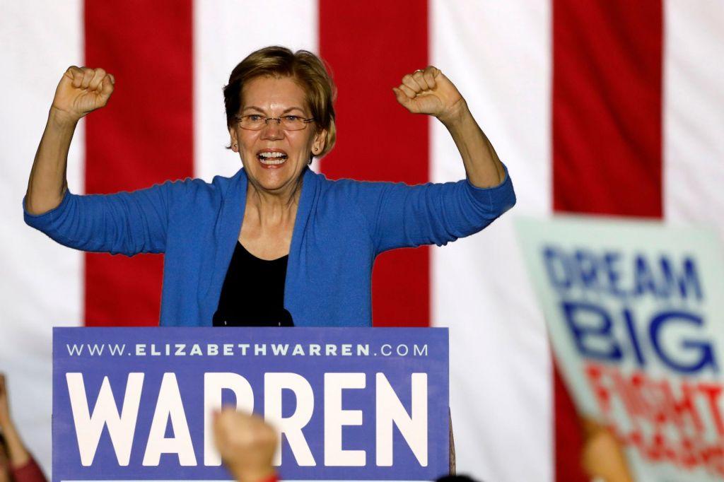 Poslavlja se tudi Elizabeth Warren