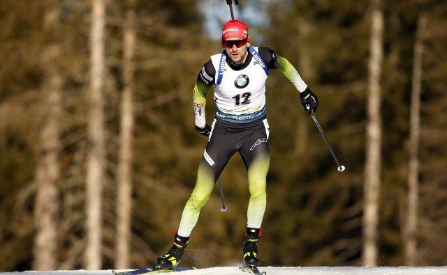Jakov Fak v tej sezoni še ni stal na stopničkah za zmagovalce, večkrat pa je bil čisto blizu. FOTO: Matej Družnik
