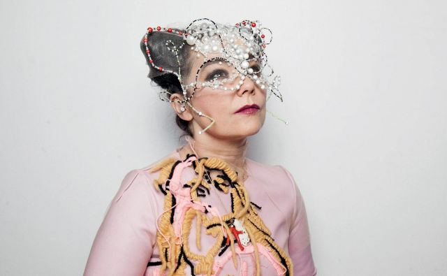Björk navdušuje.<br /> FOTO: osebni arhiv