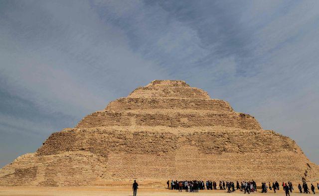 4700 let stara piramida je po obnovi ponovno odprta za javnost. FOTO: Mohamed El-shahed/Afp