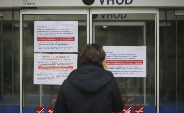 NIJZ je predlagal sklic sveta za nacionalno varnost, predsednik vlade, ki opravlja tekoče posle,Marjan Šarecpa je že napovedal, da ga bo sklical za ponedeljek, in sicer v razširjeni sestavi. FOTO: Jože Suhadolnik/Delo