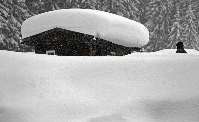 Gorovje Dachstein sodi med enega najbolj priljubljenih izletniških ciljev za ljubitelje zimskih športov. FOTO: Harald Schneider/AFP