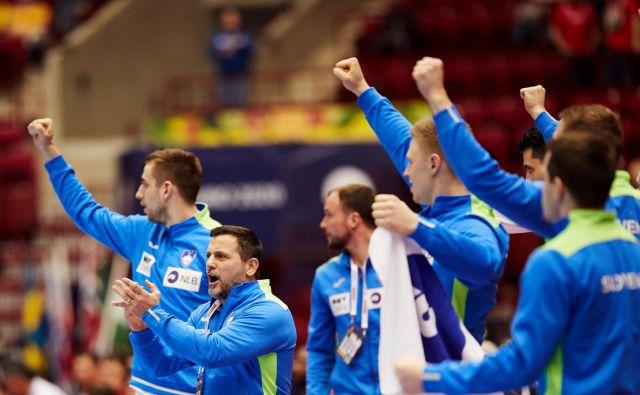 Slovenci so se v prvi akciji pod Ljubomirjem Vranješem izkazali s četrtim mestom na EP na Švedskem. FOTO: Reuters