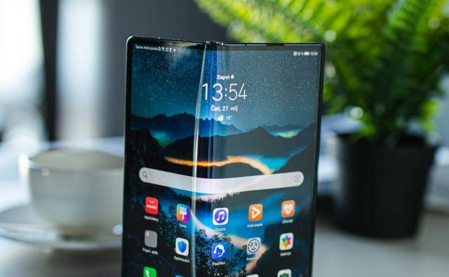Novi Huawei velja za najbolj izpopolnjeno napravo tega proizvajalca. FOTO: Huawei