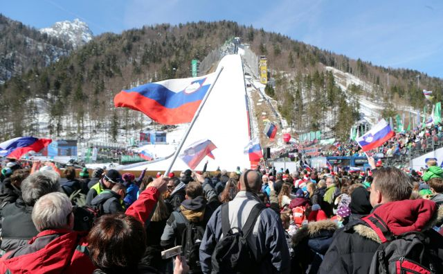Letošnji planiški spektakel ne bo videl gledalcev. FOTO: Marko Feist