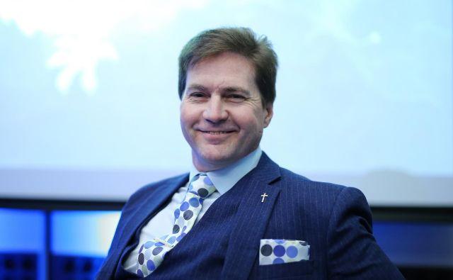 Avstralski računalničar in poslovnežCraig Steven Wright. FOTO: Jože Suhadolnik