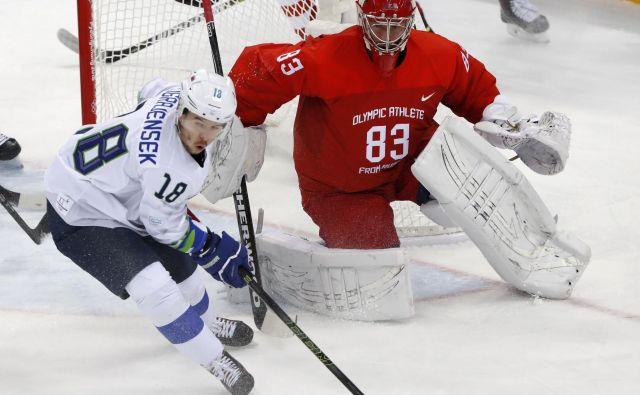 Slovenski hokejski reprezentant Ken Ograjenšek je že dolgo med udarnimi aduti moštva iz Gradca. FOTO: Reuters