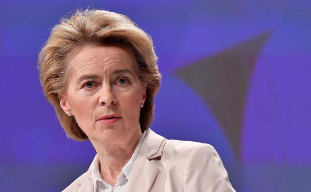Evropska komisija prihaja z novimi pobudami za spopadanje s posledicami koronavirusa. FOTO: John Thys/AFP
