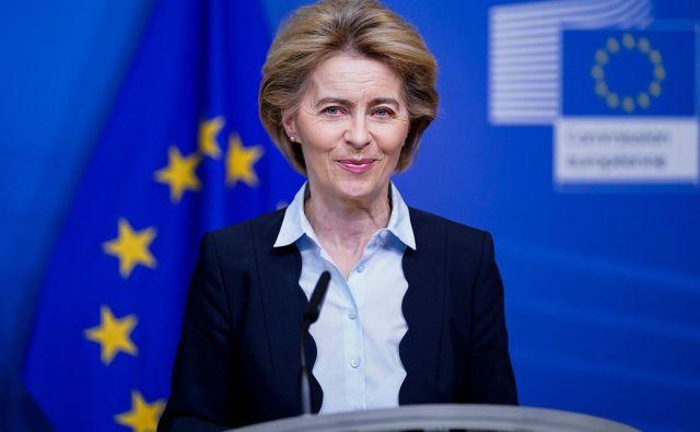 Predsednica <strong>Ursula von der Leyen</strong> je v prvih stotih dneh evropske komisije pokazala veliko energičnosti, pa tudi ustvarjalne improvizacije. FOTO: AFP