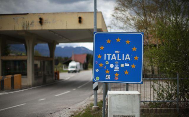 Meja z Italijo se bo zaprla, ko bodo izpolnjeni tehnični in administrativni pogoji. FOTO: Jure Eržen/Delo