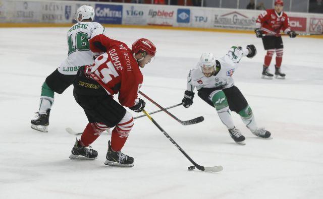 Za hokejiste Jesenic in Olimpije se je sezona v alpski ligi že končala. FOTO: Leon Vidic/Delo