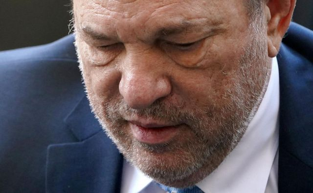 Nekdanji filmski producent Harvey Weinstein. Foto Carlo Allegri Reuters