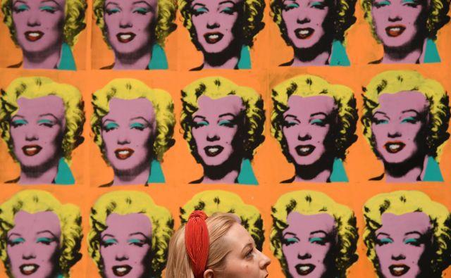 Diptih Marilyn Monroe (1962) temelji na fotografiji iz filma <em>Niagara</em>. FOTO: Reuters