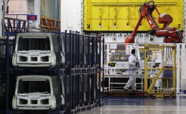Fiat delno ustavlja nekatere svoje tovarne v Italiji. Foto Reuters