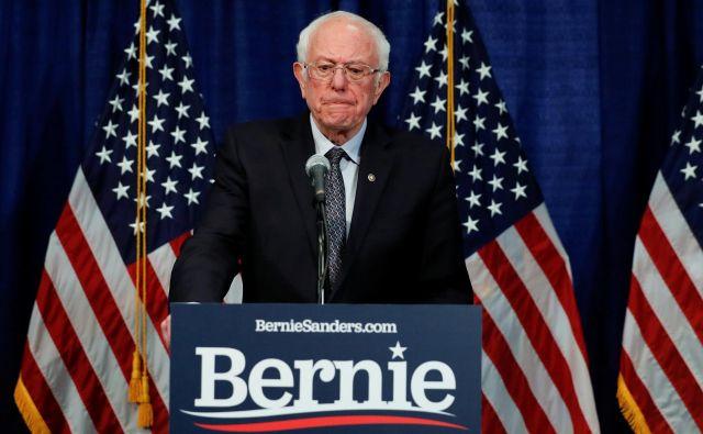 Demokratični socialist Bernie Sanders. Foto Lucas Jackson Reuters