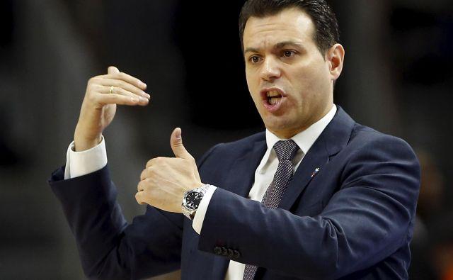 Dimitrisa Itoudisa bi lahko zamikalo vodenje slovenske reprezentance v kvalifikacijah za OI. FOTO: Reuters
