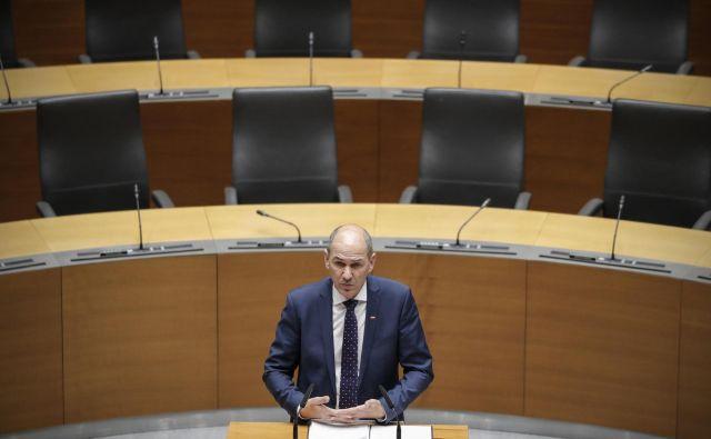 Janez Janša, predsednik štirinajste slovenske vlade<br /> FOTO: Uroš Hočevar