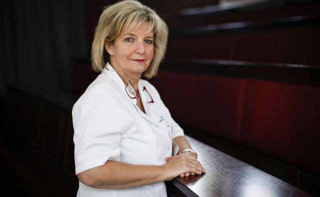 Infektologinja in epidemiologinja dr. Bojana Beović Foto Uroš Hočevar