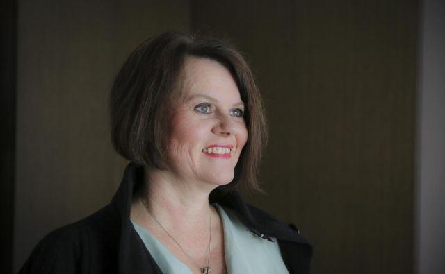 Melita Kuhar, socialna pedagoginja, družinska terapevtka in avtoricatreh knjig: Iskreno o partnerstvu, Iskreno o vzgoji in najstnikih ter Iskreno o intimnosti, ki je izšla konec februarja.<br /> FOTO: Jože Suhadolnik