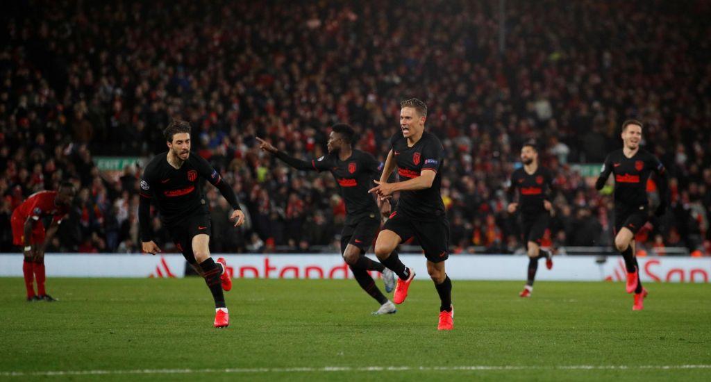 FOTO:Zbogom, Liverpool! Oblak in soigralci še drugič premagali evropskega prvaka