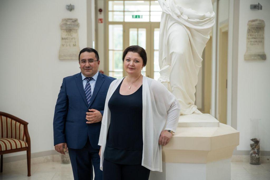 FOTO:Valery in Natalija Arakelov: Najin uspeh je, da so zdaj Rimske terme zelo obiskane